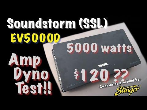 SSL EV5000D 5000 Watts for $120? Amp Dyno Test