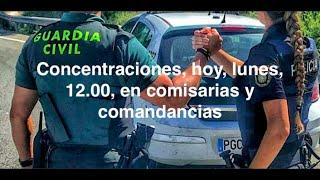 """¡REBELIÓNTOTAL DE POLICÍASY GUARDIAS CIVILES ANTE EL """"ABANDONO"""" DEL GOBIERNO!"""