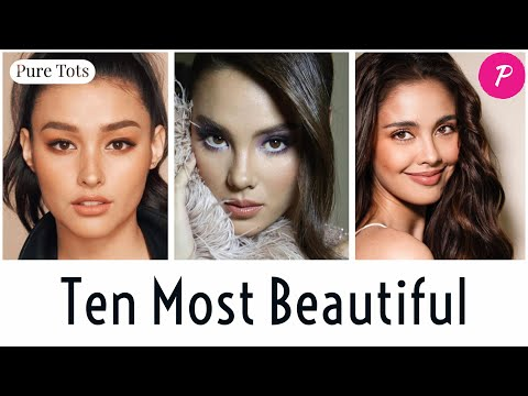 Top 10 MOST BEAUTIFUL FACES in Philippine Entertainment by Professor Aguila