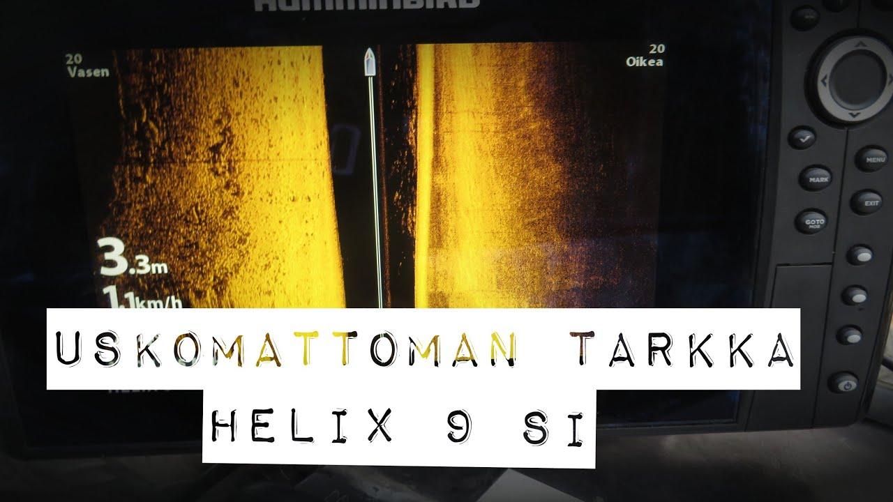 Humminbird Helix 9 Mega Si uskomattoman tarkkaa kuvaa