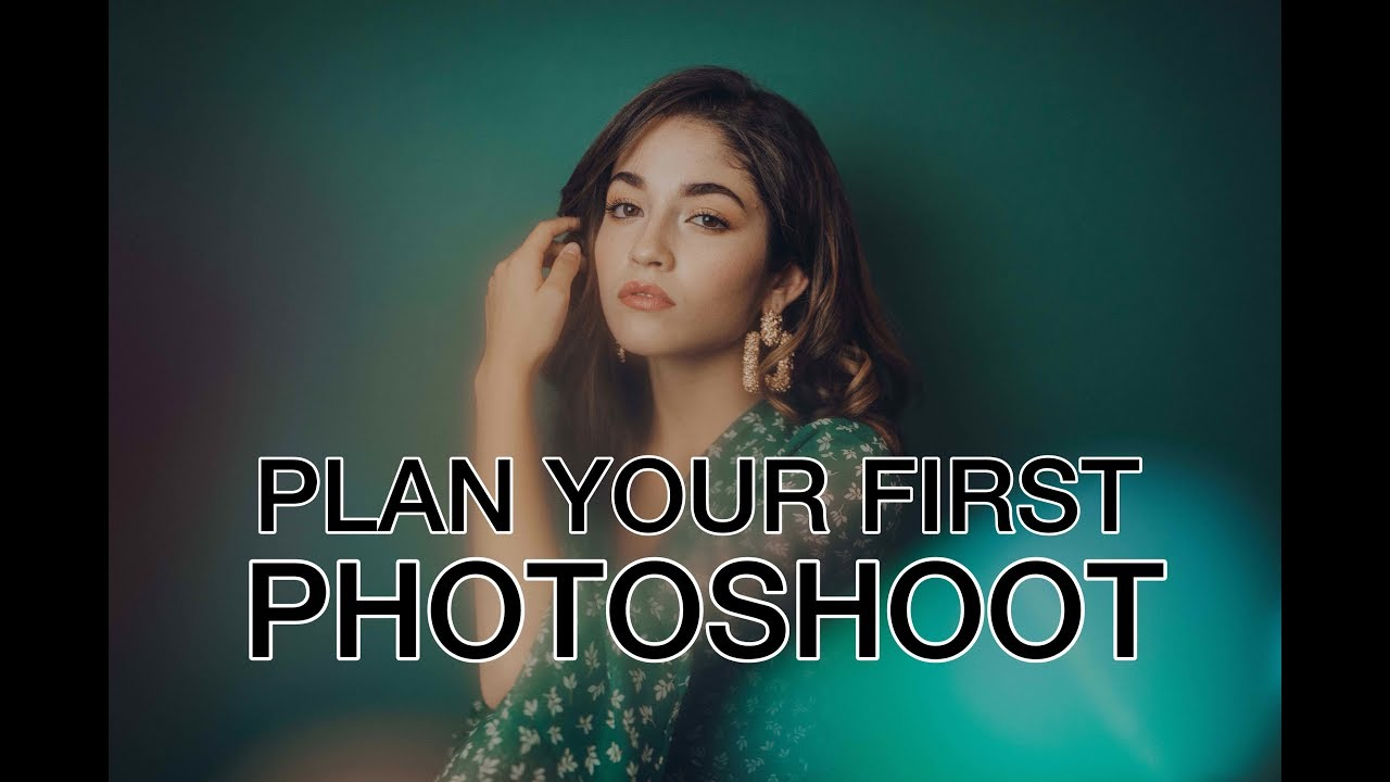 How To Plan A Photoshoot Easy Diy At Home Studio Youtube