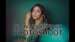 How To Plan A Photoshoot + EASY DIY AT-HOME STUDIO