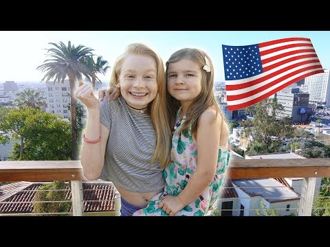 OUR FiRST DAY iN AMERiCA! 🤩 OMG!!!