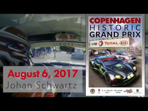 Johan Schwartz Lotus Cortina Copenhagen Historic Grand Prix 2017
