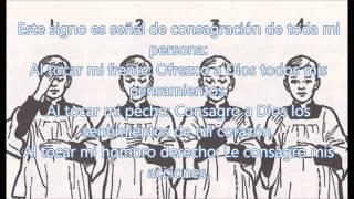 La señal de la cruz,  significado, historia y  usos, 1era parte. Espinas del Nazareno