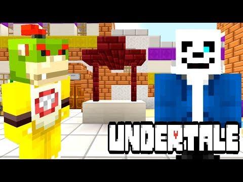 BOWSER JR'S NEW ROOMATE?! (SANS UNDERTALE?) | Nintendo College | Minecraft [89]