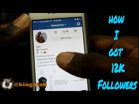 How To Get Instagram Followers | 2016 | Best Way | Get Thousands Of Instagram Followers