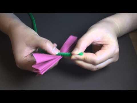 Tissue Paper Flower Rose