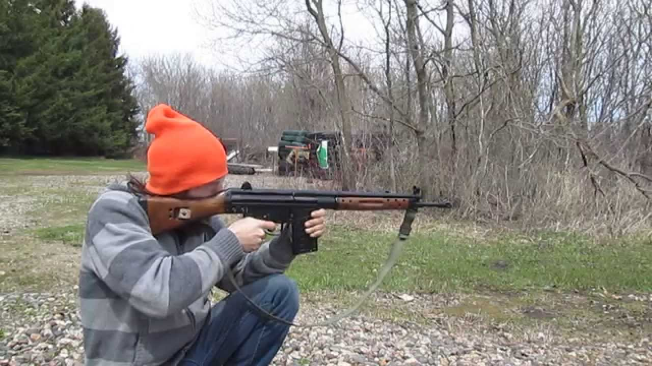 Shooting A CETME .308 Spanish Battle Rifle