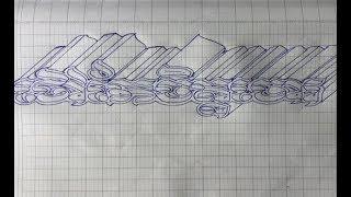 របៀបឆ្លាក់អក្សរខ្មែរ - ថៅកែចិត្តចោរ - draw letters in different styles - style letters