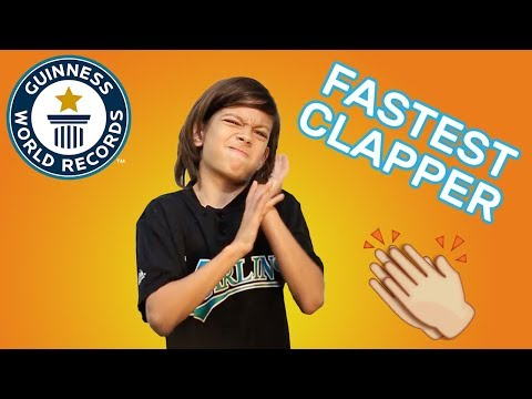 Most claps in one minute - Guinness World Records