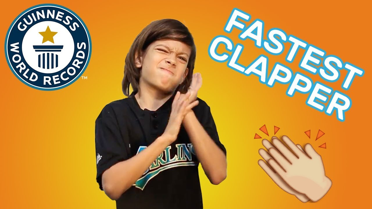 Download Most claps in one minute - Guinness World Records