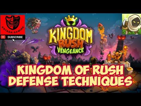 Kingdom Rush Defence techniques |