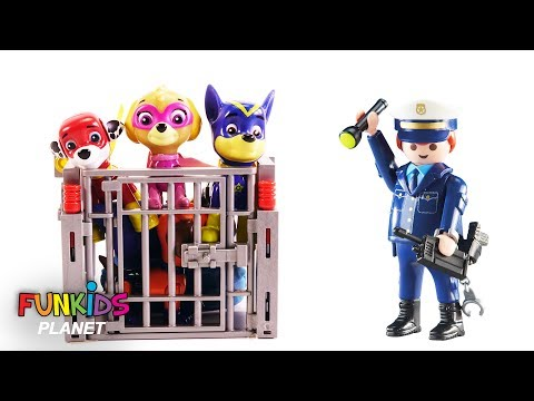 Thumbnail: Paw Patrol Get the Pups Out of Jail with Help of Fidget Spinner - Learn Colors Videos For Kids