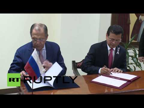 Guatemala: Lavrov meets El Salvador FM to sign visa agreements