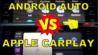 Android Auto vs Apple Carplay (updated)