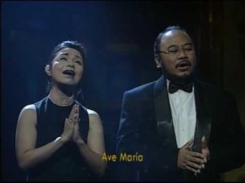 Ave Maria - Schubert (CHRISTOPHER ABIMANYU & RUTH SAHANAYA)