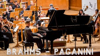 Brahms - Paganini Variations | Piano & Orchestra Version