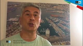 08-09-2018: #barivolley2018 - Marco Fantasia, telecronista Raisport, presenta Pool C di Bari