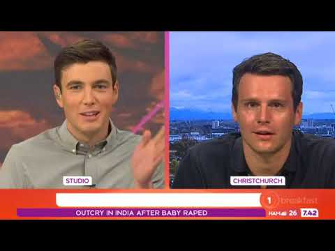 Musical mega star Jonathan Groff​'s arrived in NZ to lend a helping hand to local theatre students
