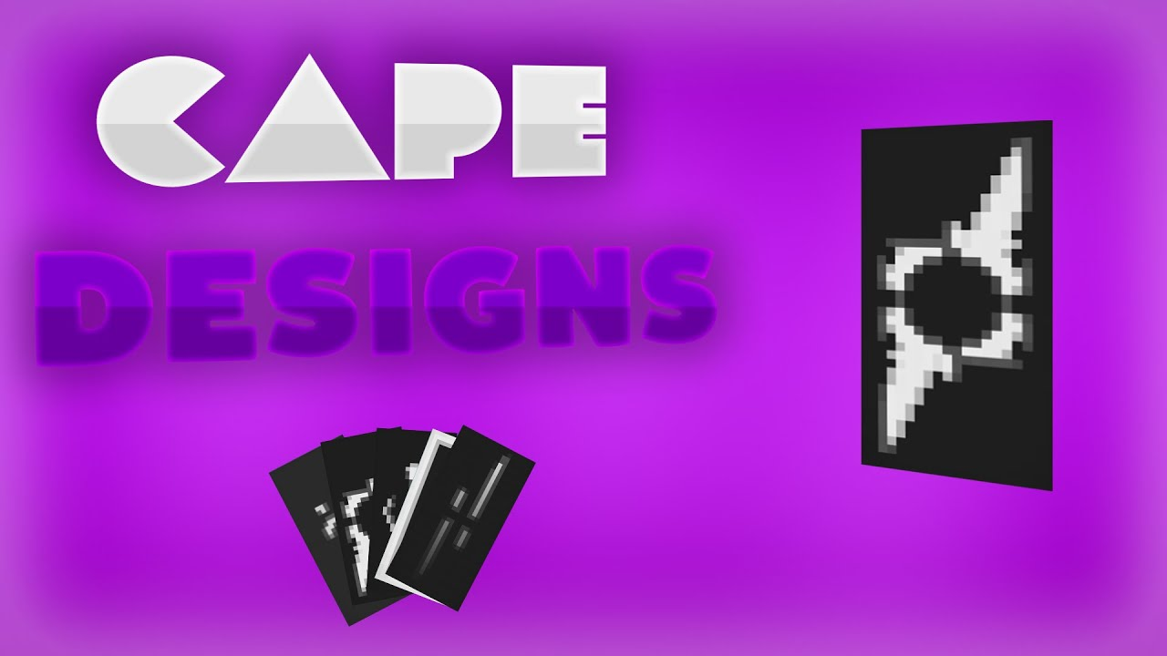 5 cool optifine cape designs youtube for Cape designs
