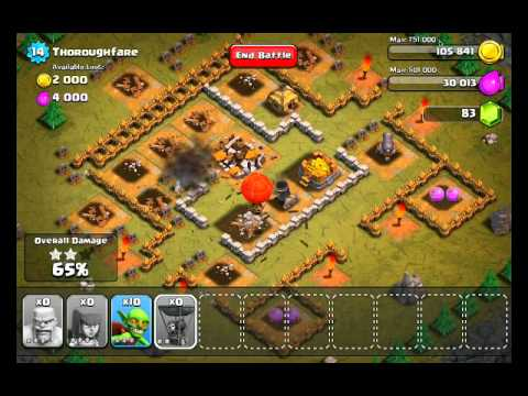 Clash of Clans Level 19 - Thoroughfare