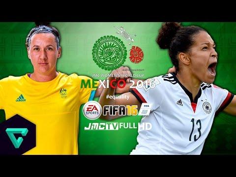 Australia vs. Germany | 2016 jmc Women
