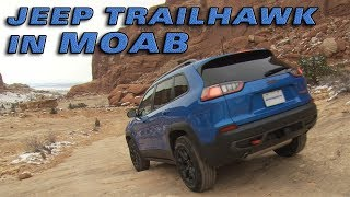 Jeep Trailhawk In Moab - Motoring TV