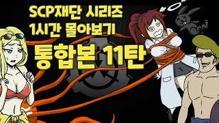 SCP 통합본 11탄 / SCP재단 시리즈 / 1시간 몰아보기