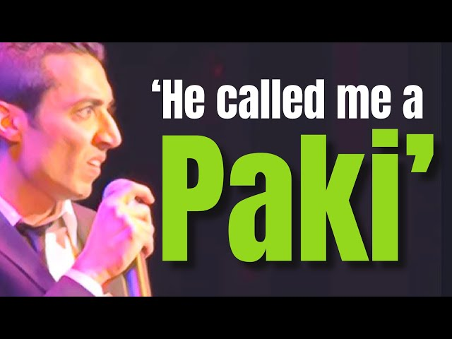 Riaad Moosa Comedy - 'He called me a Paki!'