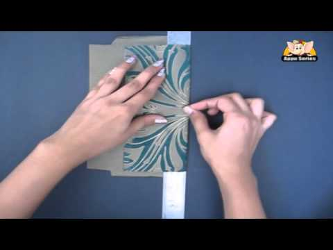 How To Make An Envelope Arts Crafts In Hindi Youtube