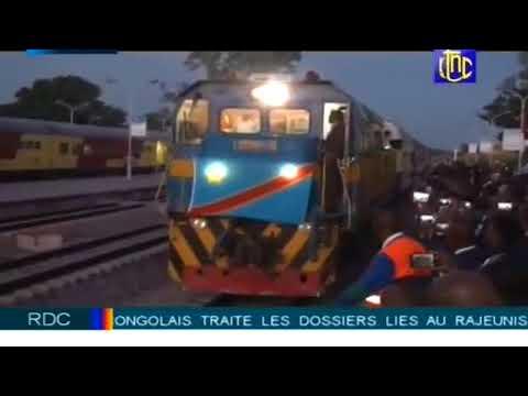 RDC-Angola: Le trafic ferroviaire reprend après 34 ans d'interruption