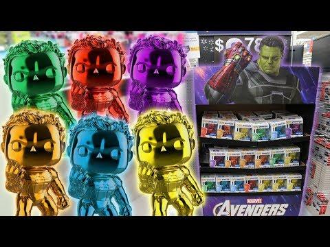 Endgame Chrome Hulk Funko Pop Hunting Infinity Stones