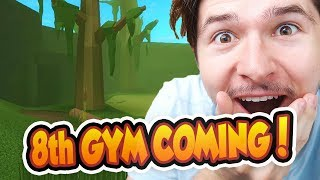 TRAINING FOR THE 8th GYM COMING SOON!! - Roblox - Pokemon Brick Bronze