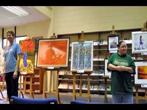 ARTWISTIC ART GALLERY. A Co-Op of Artist from Columbia Mississippi VIDEO June 10, 2013