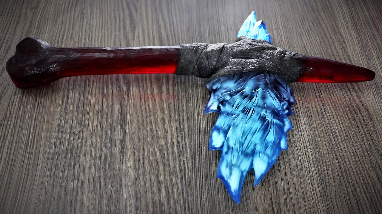 How to Make Kong's Axe | Resin Art