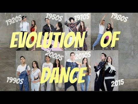 Evolution of Dance | Only Anthony
