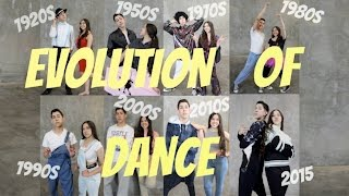 evolution of dance only anthony