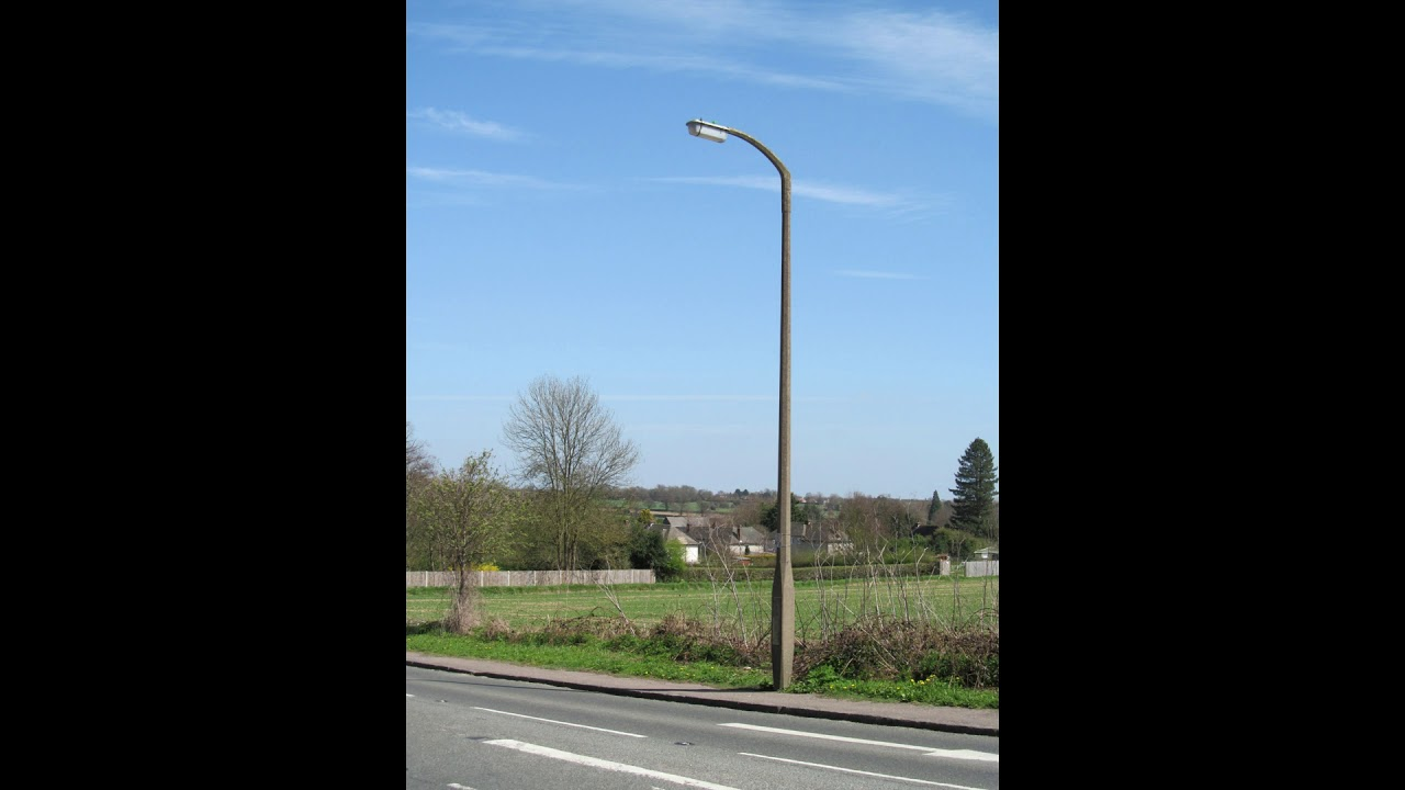 Concrete Lamp Posts Welwyn Garden City