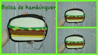 Como fazer uma bolsa diferente de Hambúrguer – Bolsa famosa na Internet