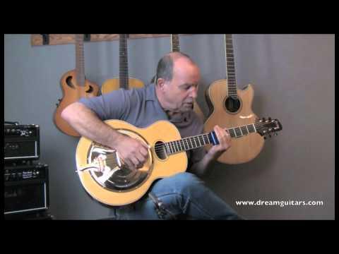 Beard Odyssey Resonator Guitar played by Steve James at Dream Guitars