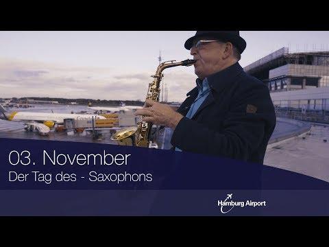 Der Tag des Saxophons | Hamburg Airport