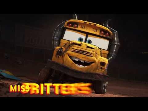 "Cars 3 ""Miss Fritter's Driving School"" - Blu-ray Bonus Feature"