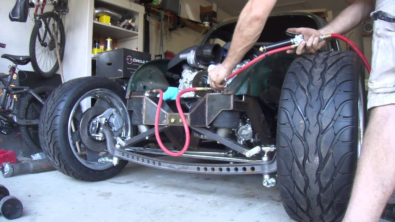 1968 Volksrod Ls3 Air Ride Suspension On Straight Axle