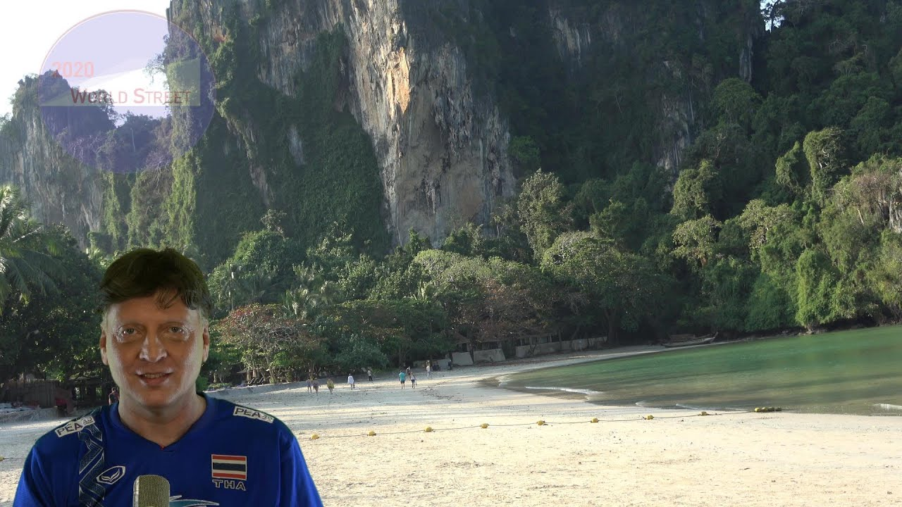 Tropical Beauty of Railay in Thailand: East vs West Side