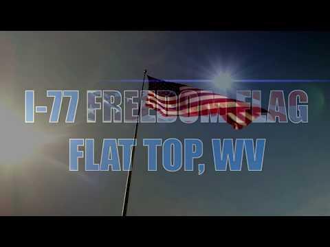 I-77 Freedom Flag