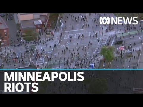Thousands Of Protesters Riot After Black Death In Custody Of Greg Floyd   ABC News