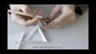 초보자 비즈공예Beads Craft Jewelry Clay 주얼리클레이 사용법mp4