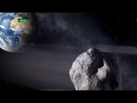 Two giant asteroids heading towards Earth