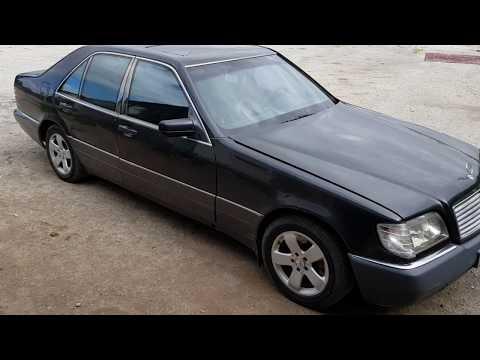 Регулировка подшипников ступицы Mercedes Benz W140